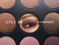 NEW! ............................ Create Your Own Eye Look .............. Mac Cosmetics Eyes On Mac, Studio Tech, Air of Style Kit ............... see photos below >>>