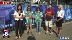 Stacey & Patty take on Cleveland's World Cornhole Champions