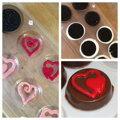 chocolate pops How to Make Chocolate Covered Oreos. A perfect treat for all your valentines! Chocolate Covered Treats, Chocolate Dipped Oreos, Chocolate Pops, Chocolate Covered Strawberries, Macaroons, Paletas Chocolate, Make Your Own Chocolate, Oreo Pops, Oreo Cookies