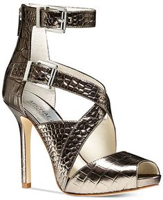 MICHAEL Michael Kors Tamara Ankle Strap Sandals - Designer Shoe Shop - Shoes - Macy's