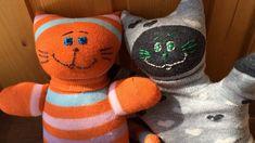 Sock Cat Tutorial. Handmade toys for kids