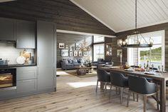 Kitchen Dining, Dining Room, Chalet Style, Big Windows, Cottage Style, Real Estate, Furniture, Design, Home Decor