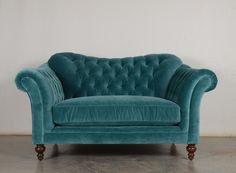 Our Lillington in Bluestone Velvet. #tealinterior #interiordesign #bluegreen #aquamarine #velvet #chesterfield #tufted #furniture #madeinUSA (1) COCOCO Home (@TheCoCoCo) | Twitter