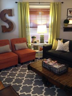 Living room by Sears House Designery