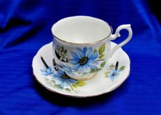 Vintage Royal Albert Bone China TEA CUP AND Saucer Made IN England | eBay