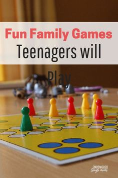 Family games for all ages even teenagers will play. These family games for Christmas and Thanksgiving get-togethers when you want to stay indoors away from the cold. Or give them at Christmas and play them all year long on family game night. #familygamenight #giftideas #Christmas