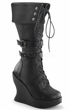 Bravo-114 Demonia Boots! #love #demonia #pirate