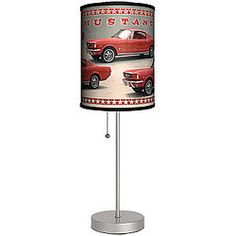 Ford® Mustangs Cylinder Lamp!