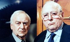 Inspector Morse and Chief Superintendent Strange