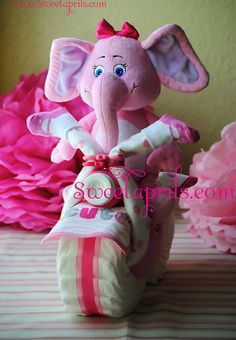 Diaper Baby Shower Gifts (with free diaper craft tutorial)