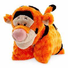 disney parks winnie the pooh tigger reverse pillow pet plush new with tag Disney Pillow Pets, Disney Plush, Pillow Pals, Plush Pillow, Disney Stuffed Animals, Tsumtsum, Pooh Bear, Disney Merchandise, Animal Pillows