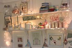 This may be in a kitchen but I hope to put something of this idea in my office/craft room