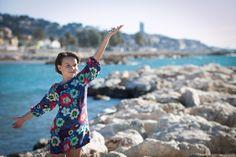 #Vestido para #niña super bonito, simple y divertido #handmade #dresses #kids #clothes #vestidos #girls