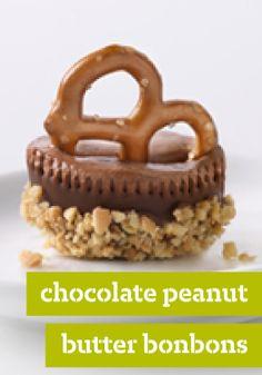 Chocolate-Peanut Butter Bonbons