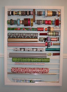 craft room designs - Bing Images  Would love to have this in my craft room!