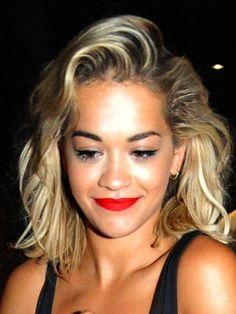 Rita Ora reveals short hair