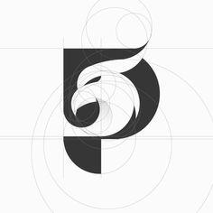 P mark Design by . Do you like this logo design? Your valuable feedback inspire. P Logo Design, Minimal Logo Design, Graphic Design, Logo Generator, Logo Creator, Logo Minimalista, Negative Space Logos, Eagle Logo, Logo Concept