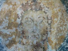 #Affresco di Santo Vescovo a #lamadantico XIII secolo.   #Fresco of #Saint #Bishop at Lama d'Antico XIII century.