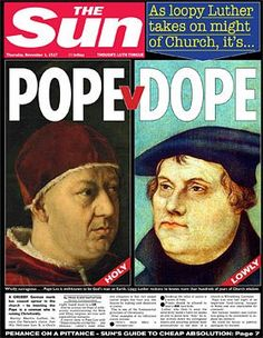 The clash between German cleric Martin Luther and Pope Leo X is the central drama in the 16th Century religious revolution known as the Reformation. Luther's stand against what he saw as Cath…