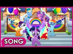 Living In Color Song Mlp Friendship Is Magic Rainbow Roadtrip Youtube Color Songs Songs Hasbro Studios