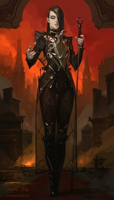 "spassundspiele: "" FIELD OF THORNS – HERESY – fantasy concept by Ihor Pasternak """
