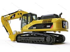 Laredo CAT Caterpillar construction equipment, Laredo CAT Caterpillar generators, Laredo CAT Caterpillar earth moving mining industrial petroleum agricultural machinery parts, 3dsmax hydraulic excavator cat 336d - Hydraulic Excavator Caterpillar CAT 336D L by iljujjkin