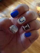 This way you know each one of your nails will look the same. You will be unable to to believe how beautiful your nails look, after you try this awesome seahawks nails design. Fancy Nails, Love Nails, Diy Nails, How To Do Nails, Pretty Nails, Gorgeous Nails, Football Nail Designs, Football Nail Art, College Football