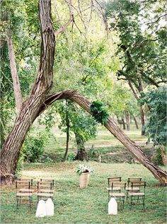 weddign ceremony seating ideas