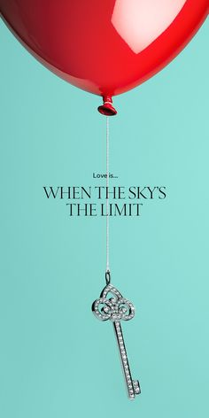 Go to great heights with a sparkling Tiffany Keys fleur de lis key pendant in platinum with diamonds.