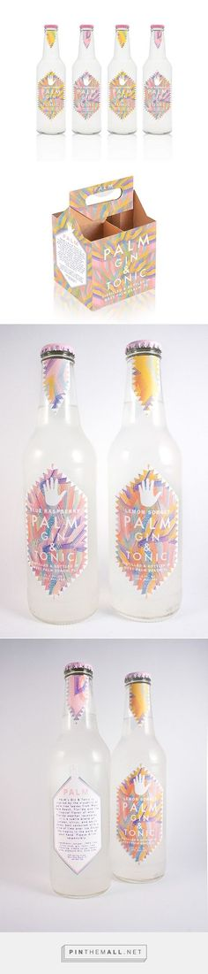Hometown Gin and Tonic packaging on Pratt Portfolios