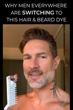 Dyed Hair Men, Dye My Hair, Mens Beard Dye, Mode Masculine, Moustache, Beauty Tips For Men, Beard Colour, Beard Straightening, Beard Tips