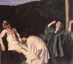 Ferenczy, Károly, (1862-1917), Deposition from the Cross, 1903, Oil
