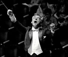 Leonard Bernstein. Always singing, always creating, always at the helm. Such passion!