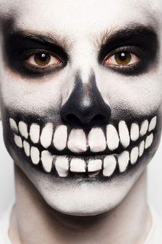 DIA De Los Muertos Halloween Makeup | DIA De Los Muertos Makeup Man