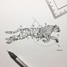 Geometric Beasts | Cheetah