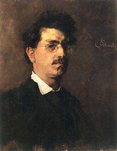 Carl Schuch - Self Portrait