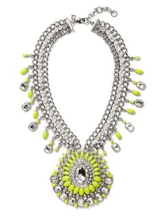 Banana Republic | Acid Brights Statement Necklace