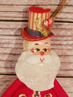 Check out this item in my Etsy shop https://www.etsy.com/listing/485773663/vintage-uncle-sam-christmas-ornament