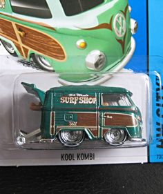 """Kool Kombi"" Super Treasure Hunt from 2015 Hot Wheels..."