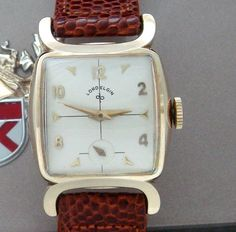Men's Vintage Watch - 1954 Lord Elgin Dress Watch in Box | Strickland Vintage Watches