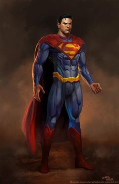 Superman by Marco Nelor.