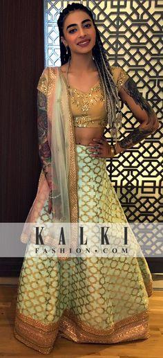 Bani j (Gurbani Judge) SKU: 374630 Rs: 32,500 /- Bani Judge, Lehenga, Sarees, Wedding Salwar Suits, History Teachers, Woman Crush, Indian Outfits, Princesses, Pakistani