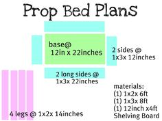 DIY Plans for photo prop baby bed