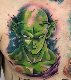 85c453fbe95 The biggest gallery of Dragon Ball Z tattoos and sleeves