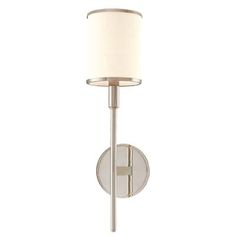 621-PN - Hudson Valley Lighting 621-PN Aberdeen 1 Light Wall Sconce in Polished Nickel - GoingLighting