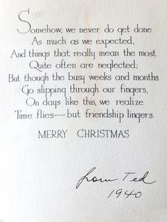 Simple joys of christmas greeting snail ma christmas card eddie ross found in a flea market bundle christmas decorations ideas m4hsunfo