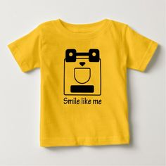 Funny face Baby Fine Jersey T-Shirt HQH