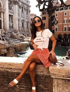 Kind People Tee – All Good Feels Spring outfits - Summer outfits - fashion outfits - casual fashion Classy Summer Outfits, Summer Outfit For Teen Girls, Summer Vacation Outfits, Summer Outfits Women, Edgy Summer Style, Edgy Summer Fashion, Casual Chic Summer, Vacation Fashion, Girls Vacation