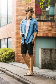 Style men style preppy mens fashion, summer outfits m Style Preppy, Style Casual, Men Casual, Men's Style, Casual Look For Men, Tomboy Style, Trendy Style, Preppy Mens Fashion, Mens Fashion Suits