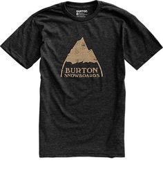 Mountain Logo Short Sleeve T Shirt | Burton Snowboards